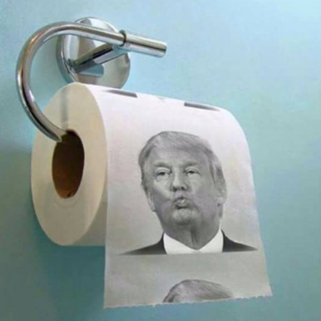 Donald Trump Toilet Paper | Cool Stuff Dude